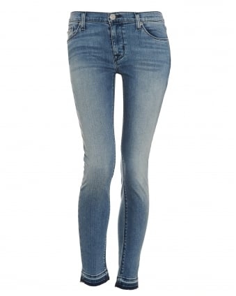 Womens Krista Super Skinny Shotgun Light Wash Jeans