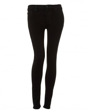 Womens Nico Jeans, Elysian Black Super Skinny Denim