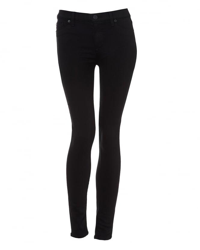 Womens Nico Jeans, Skinny Black Denim