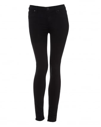 Womens Nico Jeans, Skinny Black Denim