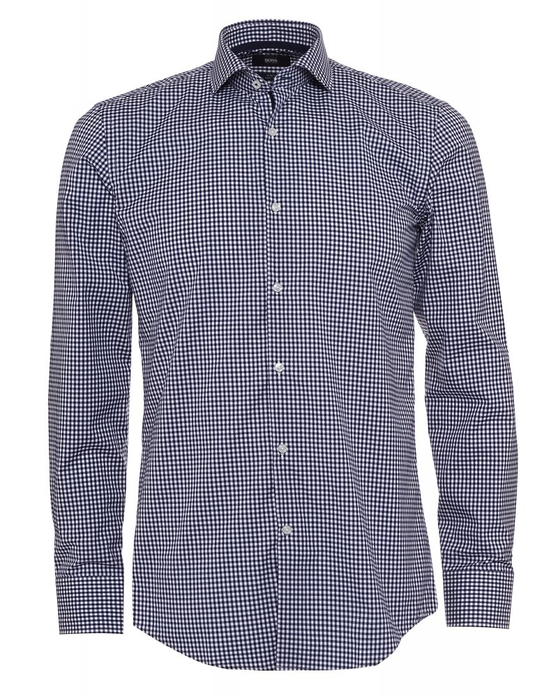 Formal 'Jerry' Slim Fit Gingham Check Shirt