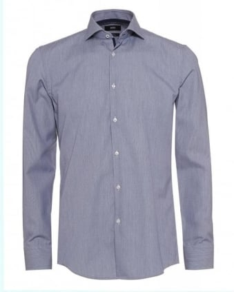 Formal 'Jery' Slim Fit Fine Stripe Shirt
