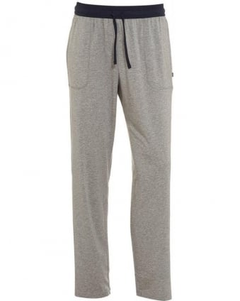 Jersey Long Pant CW, Flecked Grey Pyjama Bottoms