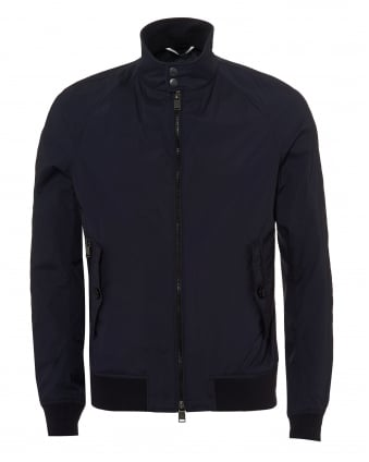 Mens Camdan Water-Repellent Ripstop Navy Bomber Jacket