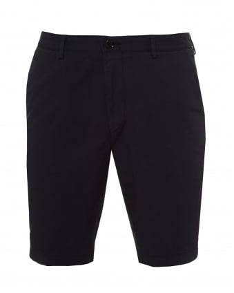 Mens Crigan Shorts, Stretch Gab Navy Blue Shorts