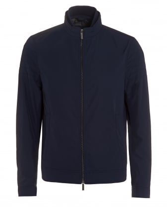 Mens Cuinn 1 Quilt Zip Jacket Blue