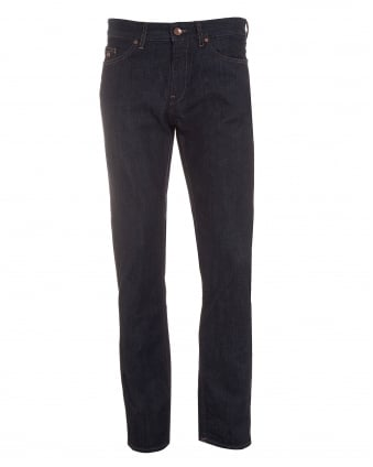 Mens Delaware3 Jeans, Slim Fit Dark Blue Denim