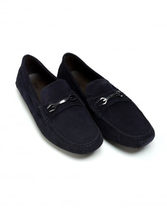 Mens Driver_Mocc_sdhw Navy Moccasin Suede Driver Shoes