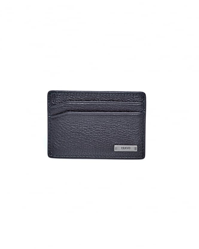 BOSS Business Mens Element_S Credit Card Holder, Rich Leather Wallet