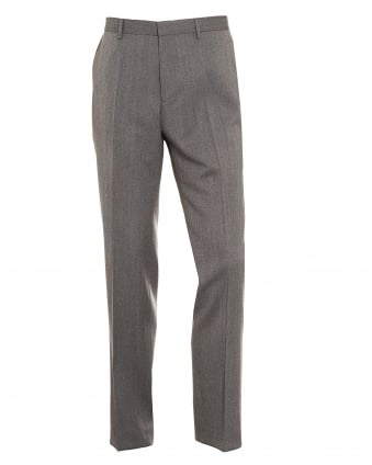 Mens Giro3 New-Wool Blend Slim Fit Grey Trousers