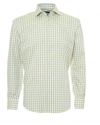 Hugo boss black shirts repertoire fashion for Mens yellow gingham shirt