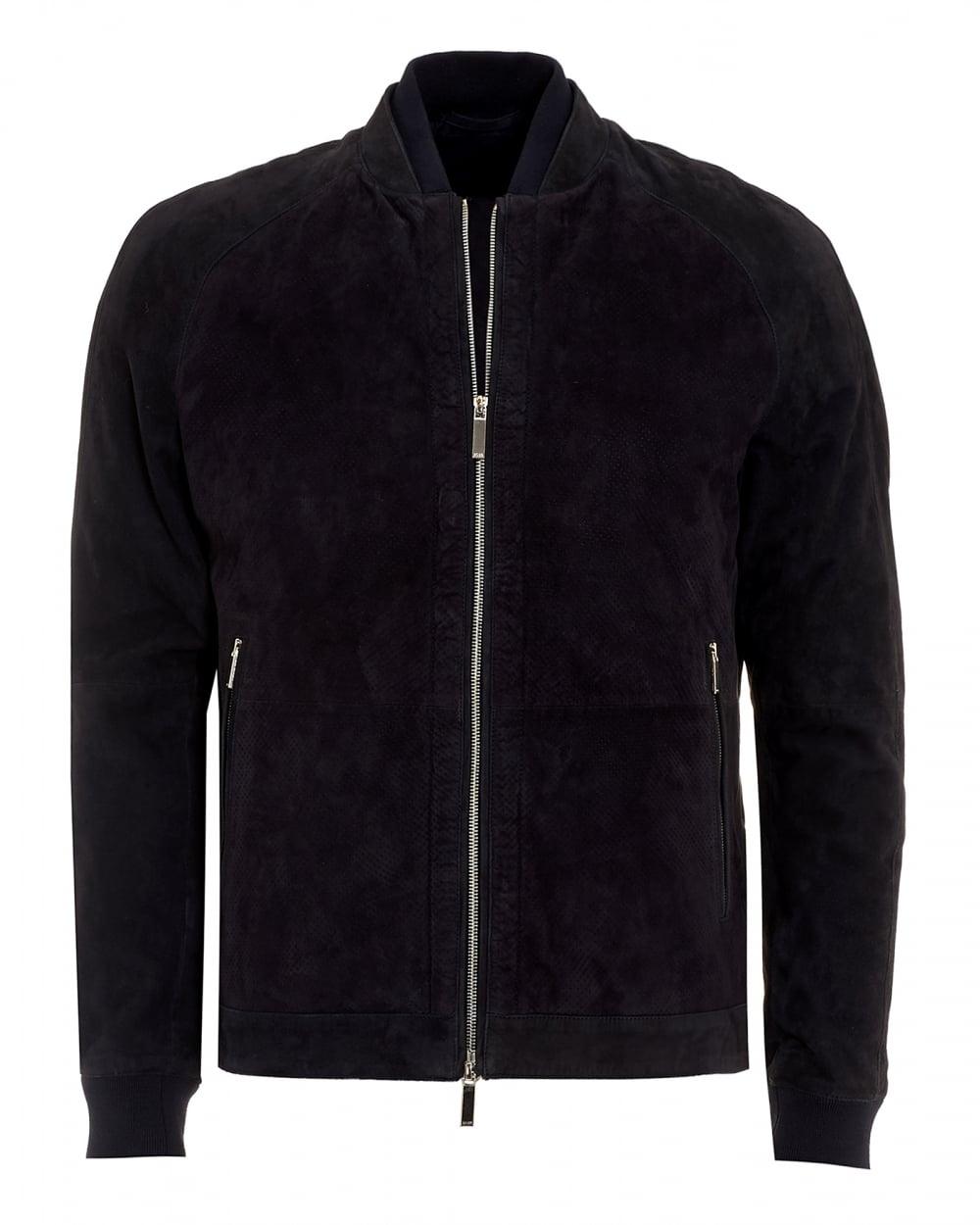 Hugo boss black bomber jacket