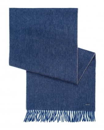 Mens Heroso 01 Two Toned Navy Blue Scarf