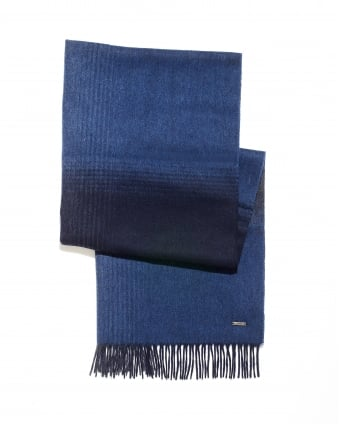 Mens Heroso Blue Ombre Scarf