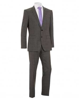 Mens Huge4/Genius3 Grey Virgin Wool Suit