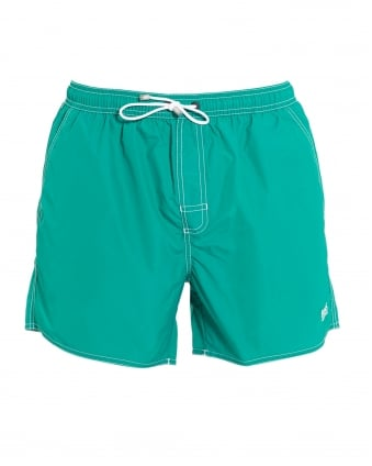 Mens Lobster Short Aqua Blue Swim Shorts