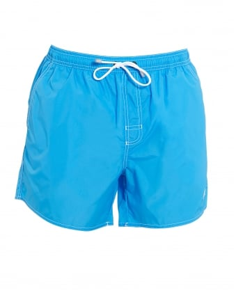 Mens Lobster Short Bright Blue Swim Shorts