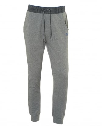 Mens Long Pant CW Cuffs Trackpants, Grey Sweatpants