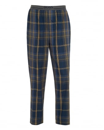 Mens Long Pant EW Checked Pyjama Pants