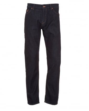 Mens Maine 3 Jeans, Indigo Blue Denim