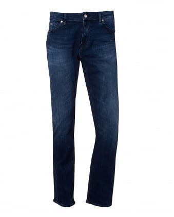 Mens Maine Mid Whisk Jean, 5 Pocket Light Denim