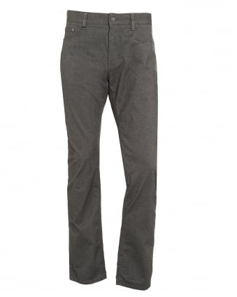 Mens Maine3-20 Trousers, Grey Marl Brushed Cotton Trousers