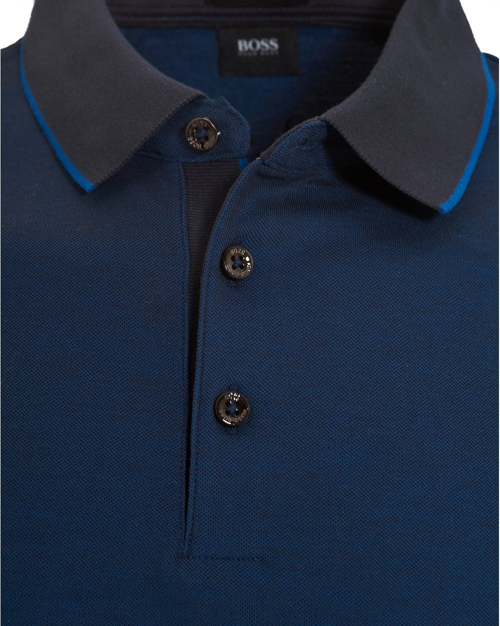 Boss Long Sleeve Polo Shirt