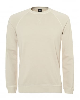 Mens Skubic 28 Sweatshirt, Sun Faded Beige Sweat