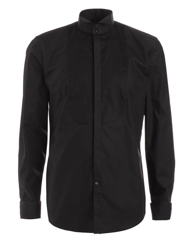 Hugo Boss Black Shirt Black Slim Fit 39 Julien 39 Easy Iron
