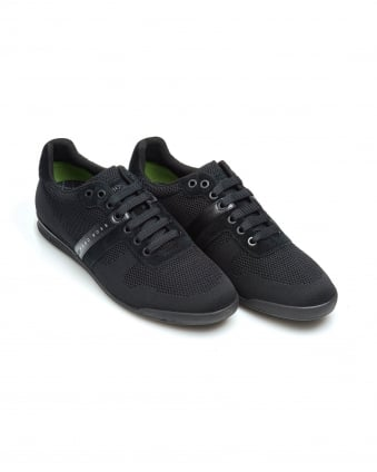 Mens Arkansas_Lowp_syjq Trainers, Low Top Black Sneakers