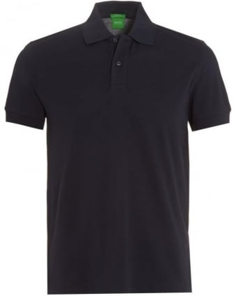 Mens C-Firenze Logo Polo Shirt, Navy Blue Polo