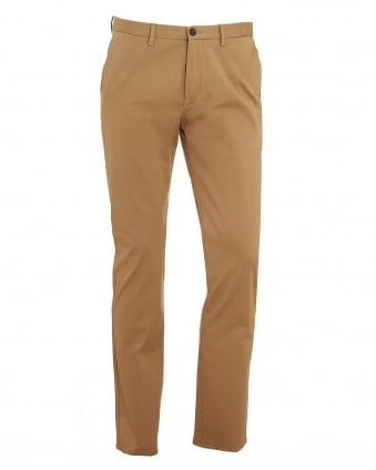 Mens C-Rice1-1-W Chinos, Slim Fit Beige Trousers