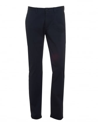 Mens C-Rice1-1-W Chinos, Slim Fit Navy Blue Trousers