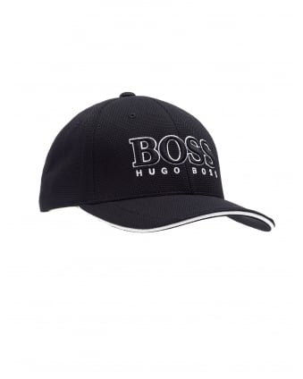 Mens Cap US Hat, Logo Black Baseball Cap