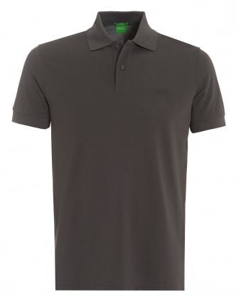 Mens Firenze Polo, Pima Cotton Magnet Grey Polo Shirt