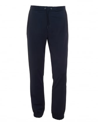 Mens Hadiko Trackpants, Cuffed Navy Blue Sweatpants