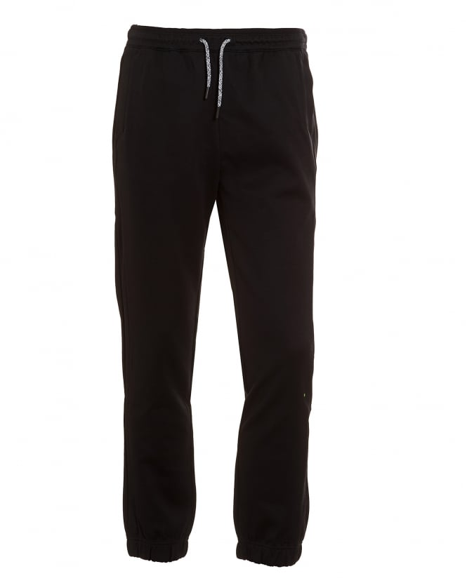 Hugo Boss Green Mens Hadiko Tracksuit Bottoms, Black Sweat Pants