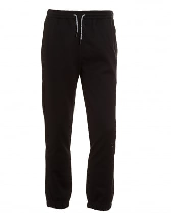 Mens Hadiko Tracksuit Bottoms, Black Sweat Pants