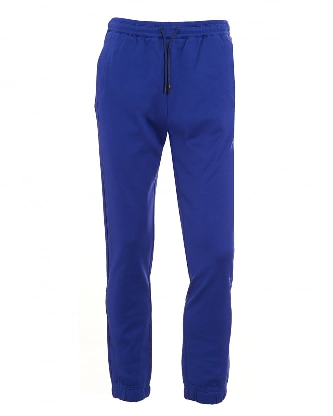 Hugo Boss Green Mens Hadiko Tracksuit Bottoms, Blue Sweat Pants