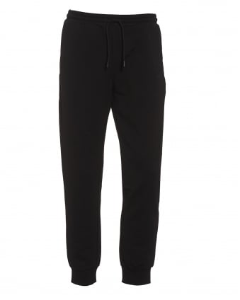 Mens Hivon Tracksuit Bottoms, Black Sweat Pants