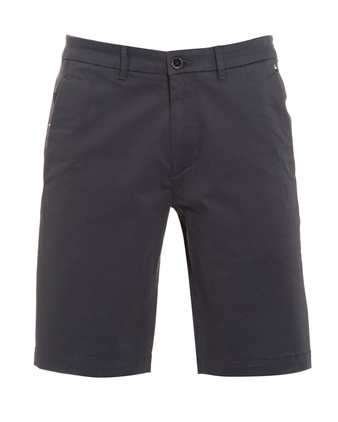 Hugo Boss Green Mens Liem 2 Shorts, Stretch Cotton Grey Short