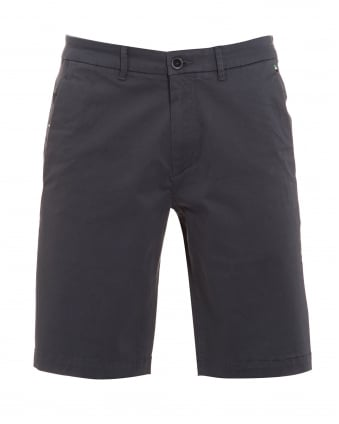 Mens Liem 2 Shorts, Stretch Cotton Grey Short