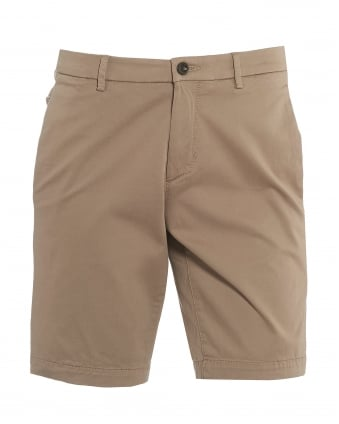 Mens Liem4-W Chinos, Beige Slim Fit Shorts