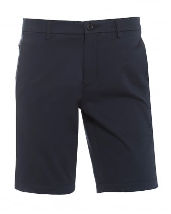 Mens Liem4-W Chinos, Navy Blue Slim Fit Shorts
