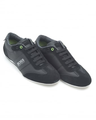 Mens Lighter_Lowp_cvc Large Logo Black Trainers