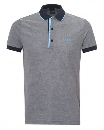 Mens Paule 4 Polo Shirt, Cotton Piqué Grey Polo