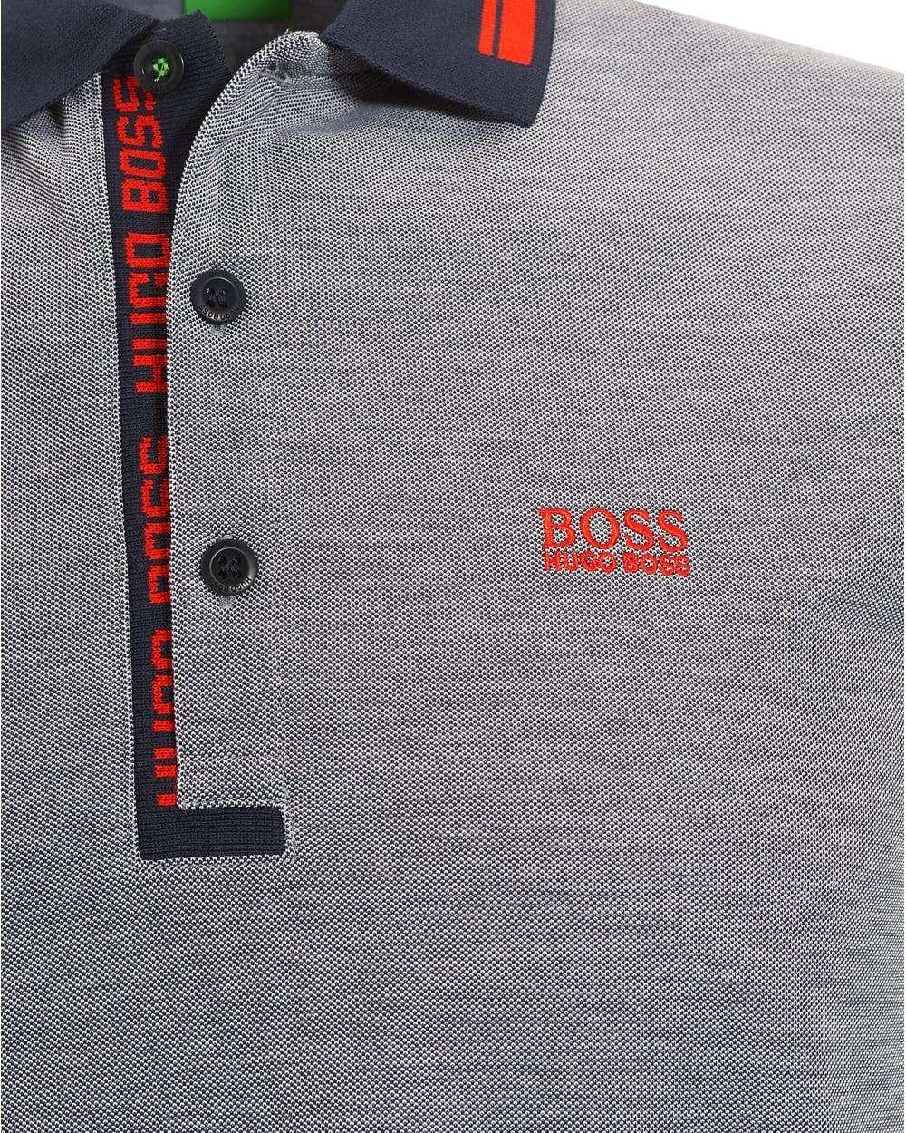 hugo boss polo grey