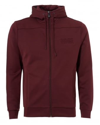 Mens Saggy Hoodie, Zip Through Port Royal Sweatshirt