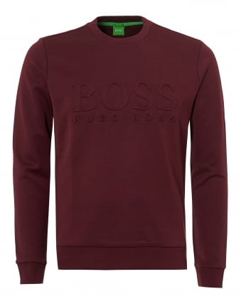 Mens Salbo Sweatshirt, Crew Neck Port Royal Jumper