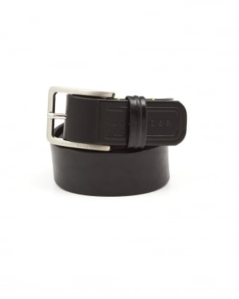 Mens Teseo_Sz35_ltpl Brushed Black Belt